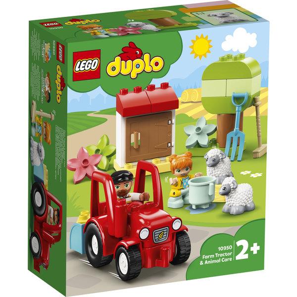 LEGO 10950 - Landbouwtractor en dieren verzorgen