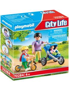 Playmobil 70284 - Mamma met kinderen