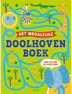 Deltas Het megaleuke doolhovenboek