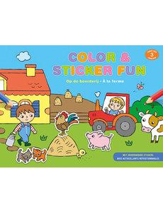 Deltas Color & Sticker fun - Lieve dieren (3 jr)
