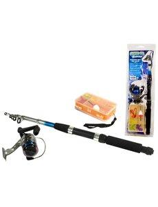 Game on Fishing Werp hengel 2.10 m plus accessoires