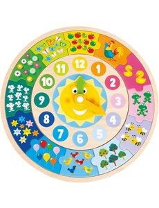 New Classic Toys Puzzelklok