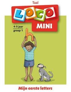 Zwijsen Loco mini - Mijn eerste letters - groep 1 (4-5 jaar)