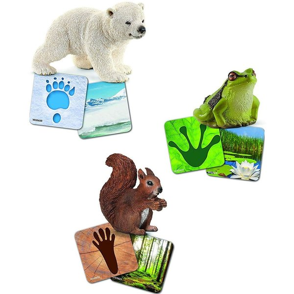 Schleich 42474 - Wildlife leerkaarten