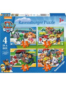 Trefl Paw patrol puzzel - 12+16+20+24 st.