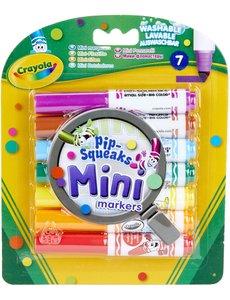Crayola Mini afwasbare viltstiften, 7 st.