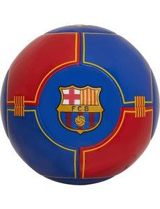 Bal FC Barcelona groot blauw/rood