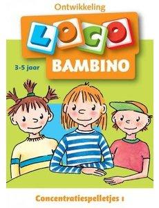 Loco bambino - Concentratiespelletjes 1 (3-5 jaar)