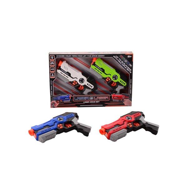 JohnToy Laser game, per set van 2 stuks