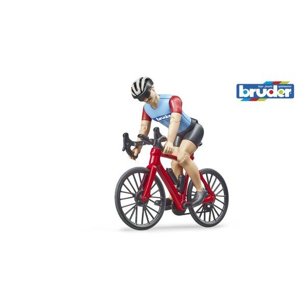Bruder 63110 - Wielrenner met fiets