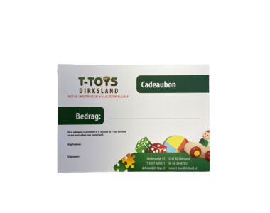Cadeaubon T-Toys Dirksland