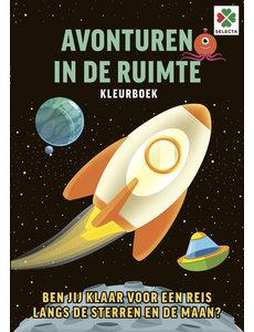 Tactic/Selecta Avonturen In de ruimte kleurboek