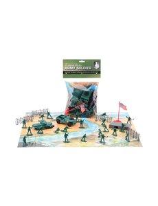 JohnToy Army Force speelset met speelmat