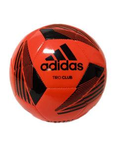 Voetbal Adidas Tiro Club, maat 5 rood/zwart