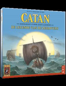 999 Games Catan uitbreiding: De legende van de zeerovers