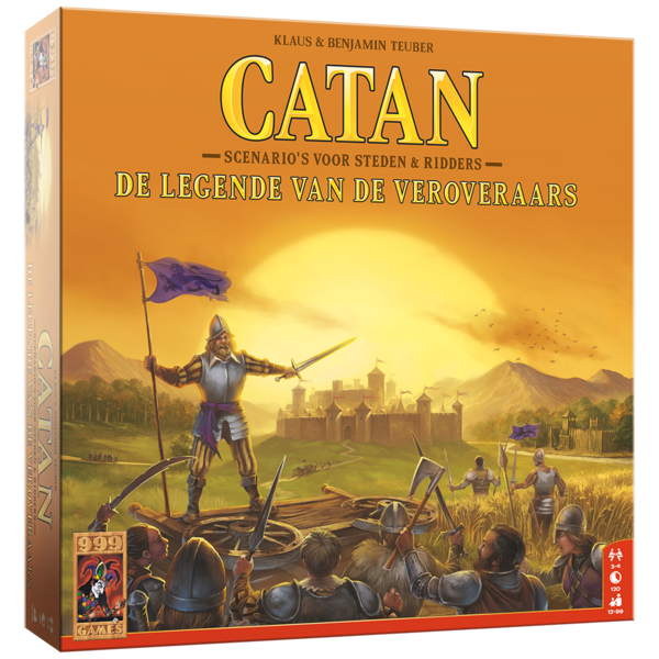 999 Games Catan uitbreiding: De legende van de veroveraars