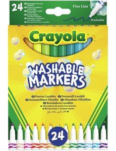 Crayola Viltstiften met dunne punt - 24 st.