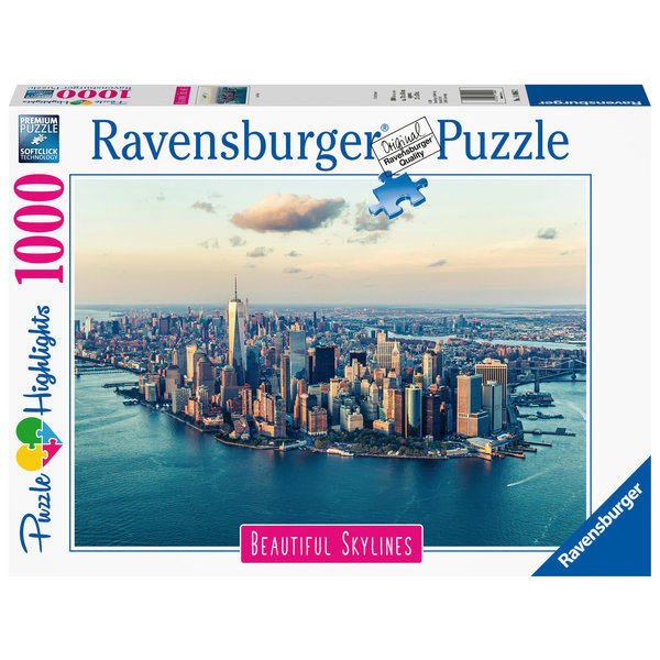 Ravensburger Beautiful skyline of New York 1000 stukjes