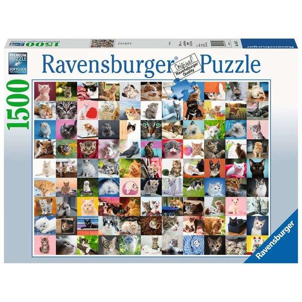 Ravensburger 99 katten 1500 stukjes