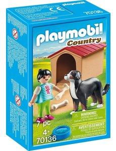 Playmobil 70136 - Kind met hond