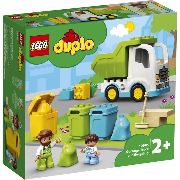 LEGO 10945 - Vuilniswagen