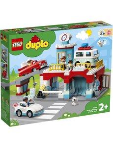 LEGO 10948 - Parkeergarage en wasstraat