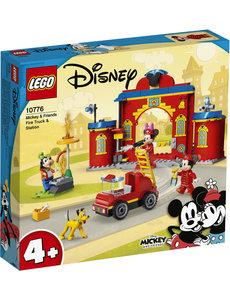 LEGO 10776 - Mickey brandweerkazerne en brandweerwagen