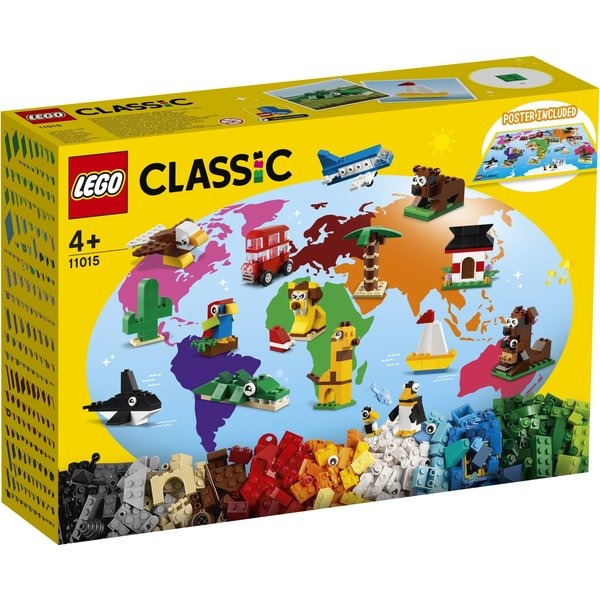 LEGO 11015 - De wereld rond