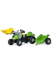 Rolly Toys Rolly Kid-X  groen met frontlader