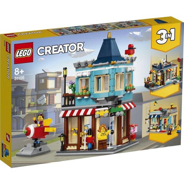LEGO 31105 - Woonhuis en speelgoedwinkel