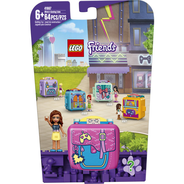 LEGO 41667 - Olivia's speelkubus