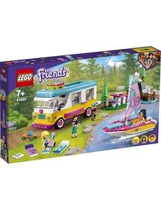 LEGO 41681 - Boscamper en zeilboot