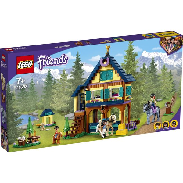 LEGO 41683 - Paardrijbasis in het bos