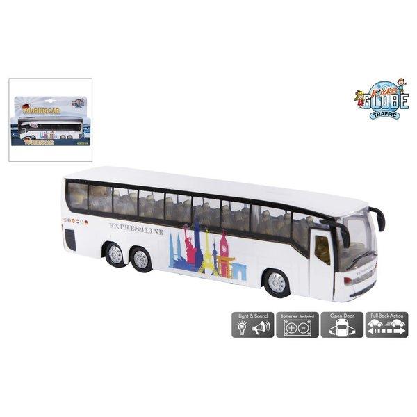 Kids Globe Autobus met licht en geluid