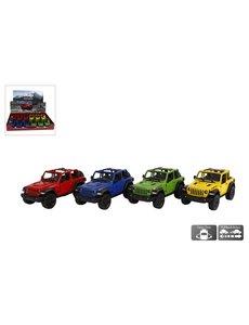 Kids Globe Jeep Wrangler auto,   pull back