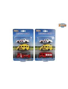 2-Play Set 112 voertuigen, 3 pack