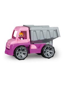 Lena TRUXX Dump truck roze, 27 cm