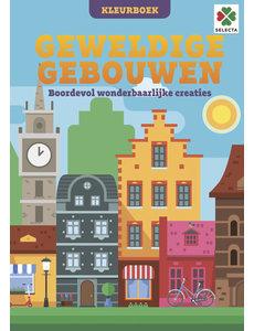 Tactic/Selecta Geweldige  gebouwen kleurboek