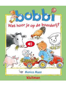 Kluitman Bobbi geluidenboekje: wat hoor je op de boerderij