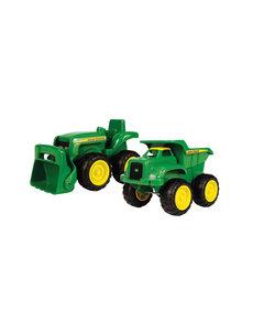 Tomy JD kiepwagen en tractor