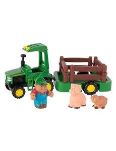 Tomy JD Speelset tractor met aanhanger