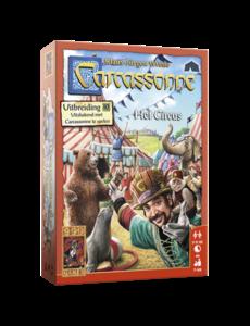999 Games Carcassonne uitbreiding: Het Circus
