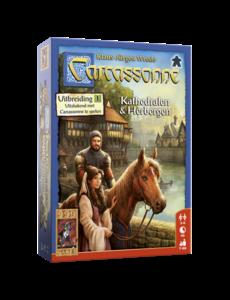 999 Games Carcassonne uitbreiding: Kathedralen en Herbergen