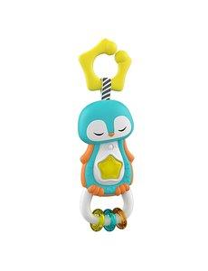 Clementoni Baby rammelaar Pinguin met licht en geluid