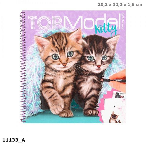 Depesche-TopModel Create your Kitty kleurboek