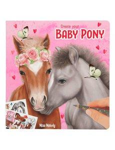 Depesche-TopModel Create your baby pony kleurboek