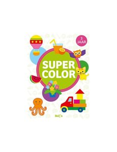 Ballon Super Color boek, vanaf 3 jaar