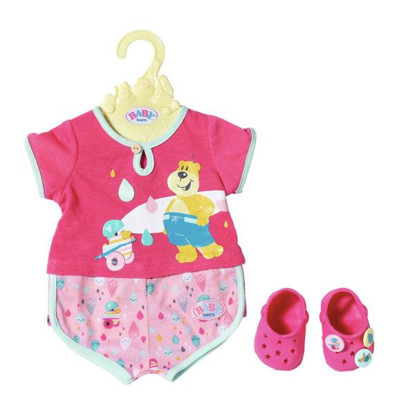 Zapf Creation Baby Born Badpyjama met schoenen