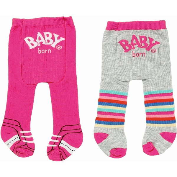 Zapf Creation Baby Born Maillot Trend  - roze/grijs - 2 pack