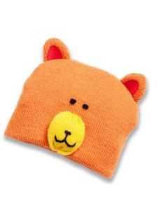 Heless Oranje beren mutsje